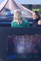 Alessandra Ambrosio on Extra TV 12/2/ 2016