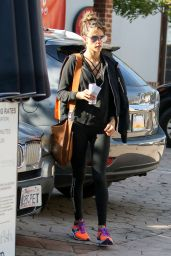 Alessandra Ambrosio - Out and about in Los Angeles 12/17/ 2016
