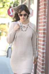 Alessandra Ambrosio - Stops by a Spa in Brentwood 12/15/ 2016