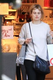 Alison Sudol - Shopping at The Grove in Los Angeles, CA 12/22/ 2016