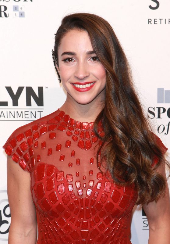 Aly Raisman - Sports Illustrated Sportsperson of the Year 2016 in New York 12/12/ 2016