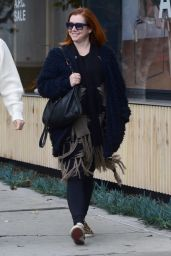 Alyson Hannigan - All Smiles After Some Pre-Holiday Shopping in West Hollywood 12/12/ 2016