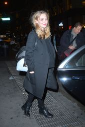 Amanda Seyfried - Leaving a Photoshoot in Soho in New York 12/1/ 2016