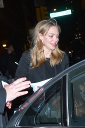 Amanda Seyfried - Leaving a Photoshoot in Soho in New York 12/1/ 2016