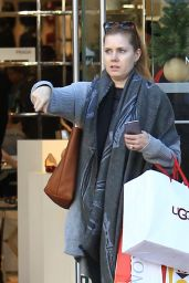 Amy Adams - Does some Christmas Shopping in LA 12/19/ 2016