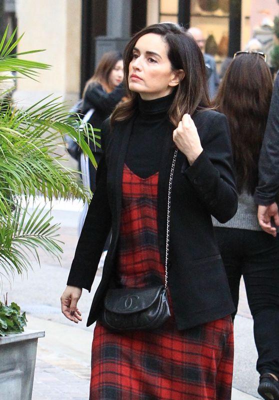 Ana De la Reguera - Shopping at the Grove in Los Angeles 12/12/ 2016