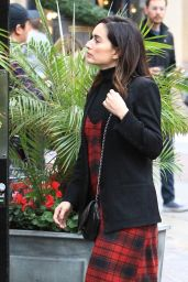 Ana De la Reguera - Shopping at the Grove in Los Angeles 12/12/ 2016