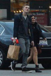 Ariel Winter With Her Boyfriend Levi Meaden in Los Angeles, CA 12/22/ 2016