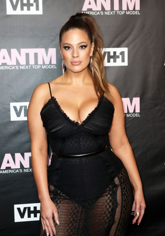 Ashley Graham - America's Next Top Model Premiere Party in New York City 12/8/ 2016