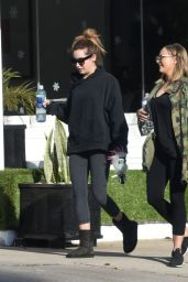 Ashley Tisdale in Tights - Out in LA 12/5/ 2016
