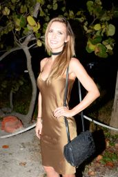 Audrina Patridge at Art Basel Parties in Miami 12/1/ 2016