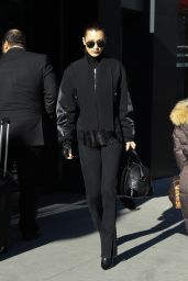 Bella Hadid - Stepping Out in Soho New York 12/20/ 2016
