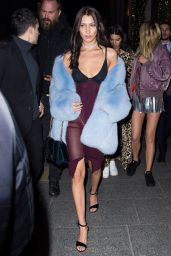 Bella Hadid – Victoria's Secret After Party in Paris 11/30/ 2016