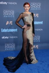 Bella Thorne – 2016 Critics' Choice Awards in Santa Monica 12/11/ 2016