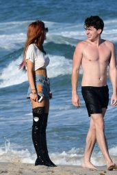 Bella Thorne at the Beach in Miami 12/18/ 2016