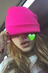 Bella Thorne - Social Media Pics, November 2016