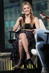 Billie Lourd at AOL Build Speaker Series in NYC 12/13/ 2016