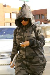 Blac Chyna - Out for a Trip to the Nail Salon in Los Angeles 12/26/ 2016