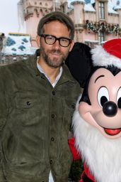 Blake Lively and Ryan Reynolds - Celebrate The Holidays at Disneyland 12/16/ 2016