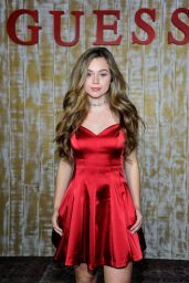 Brec Bassinger - GUESS Glitz and Glam Holiday Event in Los Angeles 12/13/ 2016