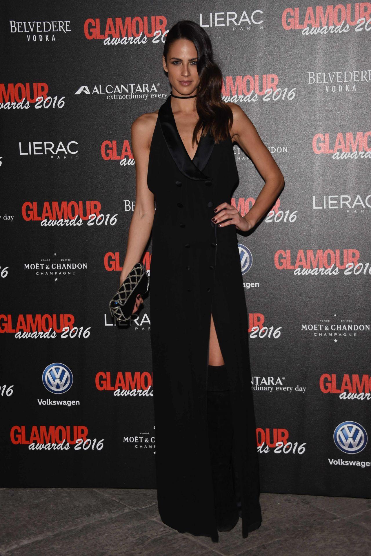 Brina Knauss – Glamour Awards in Milan, December 2016