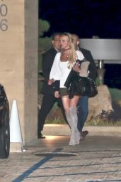 Britney Spears - Leaving the Nobu Restaurant in Malibu 12/1/ 2016