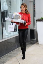 Brooke Burke - Holiday Shopping in Los Angeles 12/20/ 2016