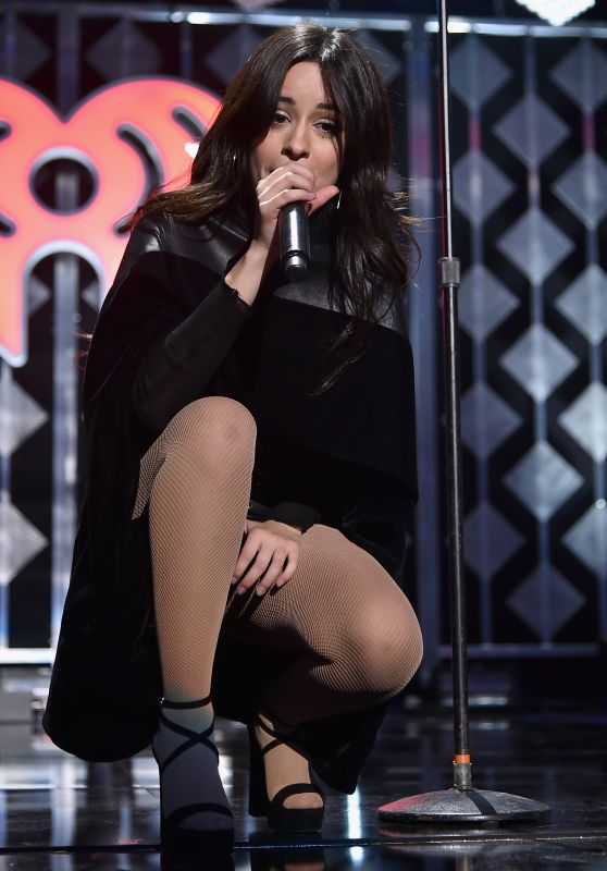 Camila Cabello Performs at Z100's iHeartRadio Jingle Ball in NYC 12/9/ 2016