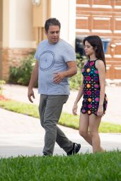 Camila Cabello - Stroll With Her Father Amid in Miami, FL 12/21/ 2016