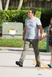 Camila Cabello - Stroll With Her Father Amid in Miami, FL 12/21/ 2016