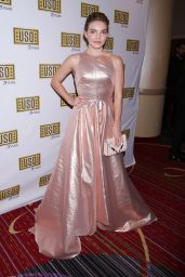 Camren Bicondova – USO New York 75th Anniversary Gala in Marriott Marquis Hotel 12/13/ 2016