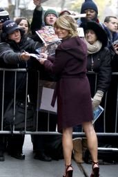 Candace Cameron Bure at 'The View' TV Show in NYC 12/8/ 2016