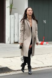 Cara Santana Make-Up Free - Photoshoot in West Hollywood 12/21/ 2016