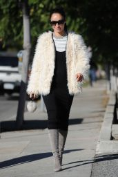 Cara Santana - Running Errands in West Hollywood 12/19/ 2016