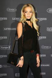 Cassandra Foret - Longines Masters of Paris Gala 12/1/ 2016