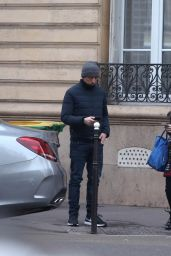 Charlotte Casiraghi - Meets Secretly Her Ex Gad Elmaleh in Paris, December 2016