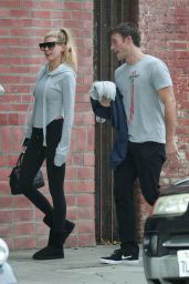 Charlotte McKinney - Grabbing a Coffee After Hitting the Gym in West Hollywood 12/26/ 2016
