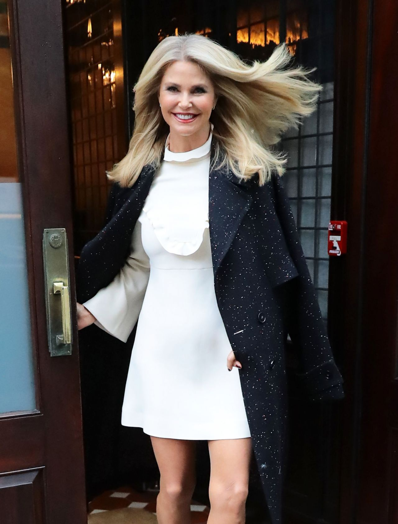 Christie Brinkley At The Greenwich Hotel In Nyc 11 29 2016