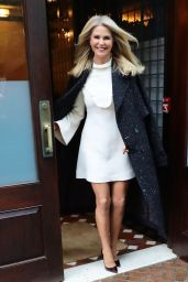 Christie Brinkley at the Greenwich Hotel in NYC 11/29/ 2016