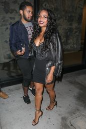 Christina Milian at Catch in West Hollywood 12/16/ 2016