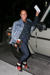 Christina Milian at Villa Blanca in Beverly Hills 11/30/ 2016