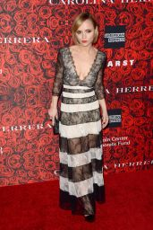 Christina Ricci – An Evening Honoring Carolina Herrera in New York City 12/06/ 2016