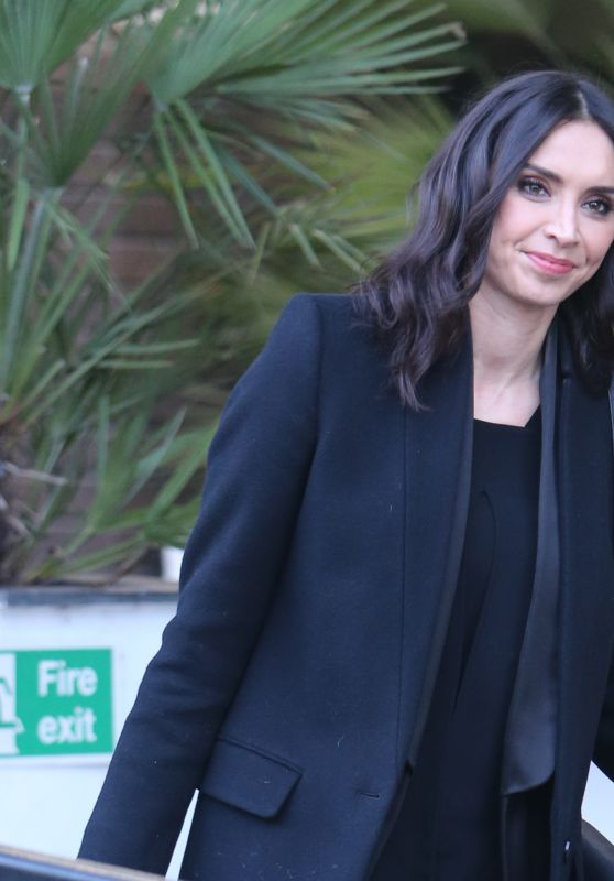 Christine Bleakley - Outside ITV Studios in London 12/20/ 2016