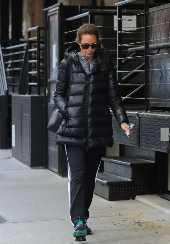 Christy Turlington - Out and about Tribeca, New York City 12/23/ 2016