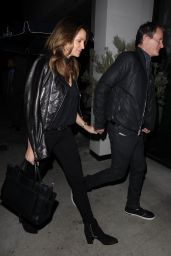 Cindy Crawford at Catch LA in West Hollywood 12/13/ 2016