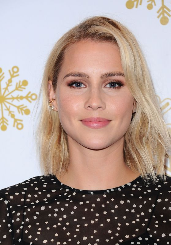 Claire Holt - Brooks Brothers Holiday Celebration With St. Jude Children