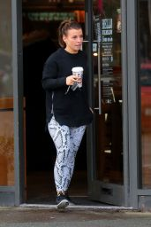 Coleen Rooney - Stops Off For a Coffee on the Go at Her Local Costa in Wilmslow Cheshire 12/30/ 2016