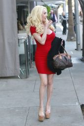 Courtney Stodden - Out For Lunch at Villa Blanca in Beverly Hills 12/27/ 2016