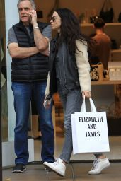 Crystal Reed - Shopping at Elizabeth And James at The Grove in Hollywood 12/21/ 2016