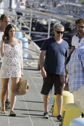 Dasha Zhukova and Roman Abramovich on Holiday in St. Barths 12/28/ 2016